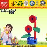 2017 giocattolo della costruzione DIY del fiore di plastica intelligente dei bambini mini