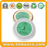金属の化粧品のギフトのための円形の缶の石鹸の錫ボックス