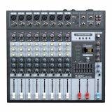 12 de doble pantalla de nivel de la banda de Mezclador de audio de salida principal