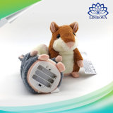 De Gift van de Jonge geitjes van Kerstmis herhaalt het Spreken Stuk speelgoed van de Opname van de Pluche van de Hamster van de Hamster het Sprekende