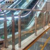 Sistema de pasamano modificado para requisitos particulares del acero inoxidable para la alameda de compras
