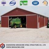 Sinoacmeの軽い鉄骨フレームの構造の倉庫