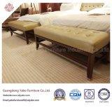 革ベッドのベンチ(YB-F-2656)が付いている顧客用Modernisticホテルの家具