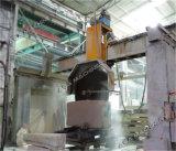 10 lâminas apedrejam blocos do granito do Sawing da máquina de estaca da ponte