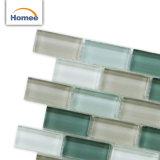 Nuevo azulejo de mosaico de cristal esmaltado al por mayor diseñado de la decoración de interior