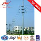 Palo elettrico d'acciaio galvanizzato per la trasmissione del palo di potere 22kv e 33kv/la distribuzione