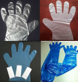 HDPE/LDPE Handschuhe, Wegwerfplastik-PET Handschuhe