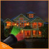 Напольный солнечный лазерный луч сада для ландшафта рождества партии