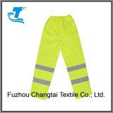 Pantalon résistant de l'eau avec la bande r3fléchissante pour les hommes