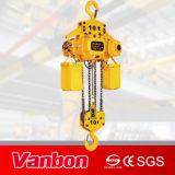Crochet de suspension de type 5tonne palan électrique à chaîne