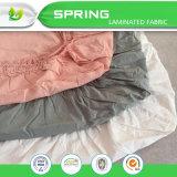 Del mismo tamaño impermeable de la pista de colchón ajustada