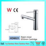 La Chine a fabriqué les articles sanitaires Tapware en laiton (HD6021) de salle de bains d'homologation de filigrane