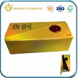 Напечатанная изготовлением бумажная коробка подарка (для продуктов или дух внимательности кожи)