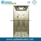 Elevador residencial del acero inoxidable del espejo del marco de madera