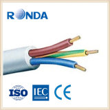 sqmm flexible de cobre de la base 4 del cable eléctrico 5