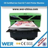 Nueva tecnología excepto la mesa del espacio A2 directa a la impresora de la ropa