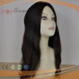 Parrucca cascer ebrea superiore di seta dei capelli del Virgin (PPG-l-01513)