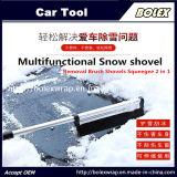 Новый снег льда скребок щетку снятия лопаты лопаты резиновый валик 2 в 1