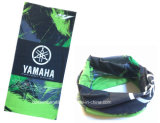 China-Fabrik Soem-Erzeugnis kundenspezifischer grüner Sport-Polyester-Stutzen-GefäßBandana
