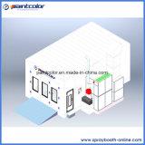 Abaisser la cabine automatique modèle populaire de peinture de l'Europe de bruit avec la performance stable