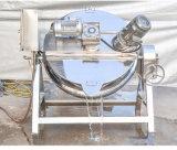 Bouilloire revêtue en acier sanitaire de mazout/vapeur/chauffage électrique pour des sauces