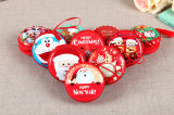 De hete Zakken van het Muntstuk van Zipline van het Metaal van Kerstmis van de Verkoop Mini Ronde