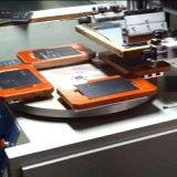 회전하는을%s 가진 기계를 인쇄하는 평상형 트레일러 마분지 또는 명찰 스크린