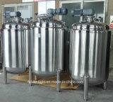 Réservoir de mélange revêtu sanitaire d'acier inoxydable