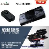 Neuer voller Schreiber des HD1080p Motorrad-DVR (Doppelkamera)