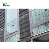 Baldacchino di vetro del portello della tenda Tempered/tenda di vetro e baldacchino di vetro dei rifornimenti fatto in Cina