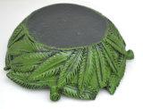 Weedの樹脂のボブMarleyの煙のRasta Raggaジャマイカの灰皿