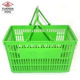 Panier à provisions compressible de la Chine de supermarché professionnel de fournisseur