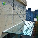 Закаленное/ Ламинированное стекло тент/навес/Датчик дождя и пролить свет на здание из стекла