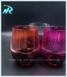 Устранимая пластичная чашка стекел вина выпивая