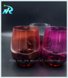 Wegwerfplastikwein-Glas-trinkendes Cup