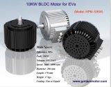 мотор мотоцикла BLDC 48V 10kw электрический, охлаждать воздуха