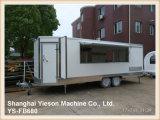 Cucina mobile commerciale Van con tutte le strumentazioni di cottura
