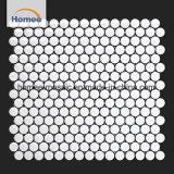 Decoración baratos Premium Penny Azulejos Azulejos de mosaico cerámico redondo