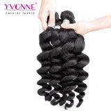 Capelli brasiliani del commercio all'ingrosso allentato dell'onda dei capelli di Yvonne per le donne di colore