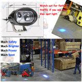 Lumière de sûreté bleue de l'entraîneur DEL de remorquage de chariot élévateur de point d'endroit