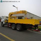 De Vrachtwagen van Sinotruck 371HP 6X4 5 van de vrachtwagen-Opgezette Ton Vrachtwagen van de Kraan