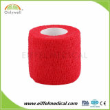 Hot of halls Comfortable 2.5cmx4.5m Self Adhesive Non Woven Tape