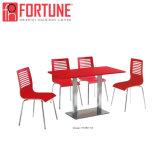 Preço inferior de mesa e cadeira de madeira moderna para restaurante/café/cantina (FOH-BC31B)