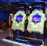 Kommerzieller elektronischer Tanz-videoSäulengang-Spiel-Maschinen