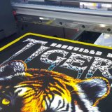 Impresora plana de la camiseta A3 para la impresora negra de la camiseta del color