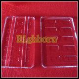 溝が付いている処理された明確な水晶ガラスシートを促進しなさい
