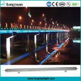 Im Freien wasserdichte 12W RGB lineare LED Wand-Unterlegscheibe