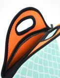À la mode résistants de l'eau portent le sac d'emballage de déjeuner du néoprène avec la courroie