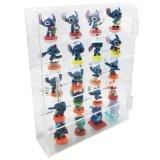 Caisse acrylique de cadre de mémoire d'organisateur de caisse de crémaillère d'étalage