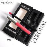 GroßhandelsVeronni 13 Farben-langlebiger wasserdichter flüssiger Mattlippenstift mit Lippenzwischenlage